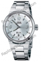 Oris WilliamsF1 Team Collection TT2 Day Date Mens Watch 635.7560