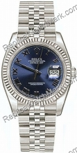 Swiss Rolex Oyster Perpetual Datejust Mens Watch 116234-BLRJ