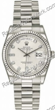 Swiss Rolex Oyster Perpetual Day-Mens Date Watch 118.239-SD