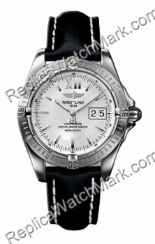 Breitling Mens Windrider Cockpit Steel Black Watch A4935011-G5-4