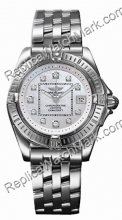 Breitling Windrider Cockpit Lady Diamond Mother-of-pearl Steel D