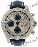 Breitling Superocean Mens Aeromarine Chrono Blue Watch A1334011-