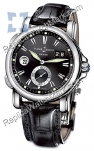 Ulysse Nardin Dual Time 42 milímetros Mens Watch 243-55-92