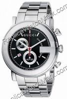 G-Gucci Watch 101G Mens Chronograph Steel Watch YA101309