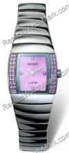 Rado Sintra Superjubile Pink Diamond Platinum-tone Ceramic Mini