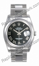 Rolex Oyster Perpetual Datejust Mens Watch 116200-BKSBRO