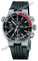 Mens Chronograph Oris Diver Watch 674.7542.71.54.RS