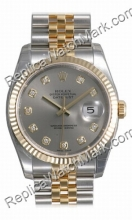 Swiss Rolex Oyster Perpetual Datejust Mens Watch 116233-GYDJ