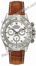 Daytona suiza Rolex Oyster Perpetual Cosmograph 18kt Oro Blanco