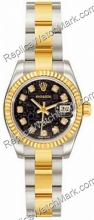 Rolex Oyster Perpetual Datejust Lady Ladies Watch 179173-BKDO