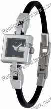 Gucci 102G acier G-Watch Black Ladies Watch Petite YA102501