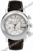 Gucci 101G Stahl Brown Herrenuhr YA101312