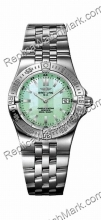 Breitling Windrider Starliner Green Mother-of-pearl Damenuhr A71