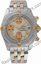 Breitling Chrono Cockpit Windrider 18kt Yellow Gold Watch Mens S