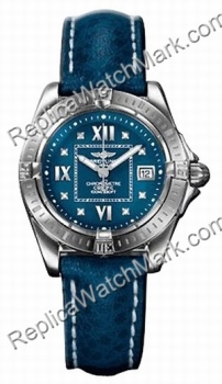 Breitling Windrider Cockpit Lady Diamond Blue женские часы A7135