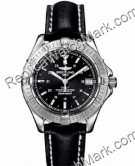 Breitling Aeromarine Colt Automatic Steel Black Strap Mens Watch