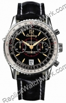 Breitling Navitimer Montbrillant Limited Edition Steel Black Her