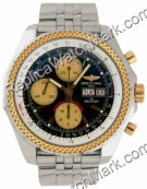 Breitling Bentley GT jaune 18 kt Mens Steel Gold Watch D1336212-