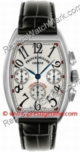 Franck Muller Cintree Curvex Chronograph 7880 CC AT SS Silver (7