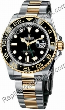 Rolex Oyster Perpetual GMT Master II Hombres Reloj 116713-BSO