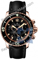 Blancpain Fifty Fathoms Flyback Chronograph Мужские часы 5085F-363