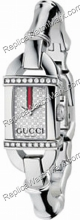 Mesdames Gucci 6800 en acier inoxydable Diamond Watch 26 YA06854