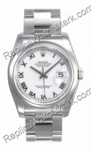 Swiss Rolex Oyster Perpetual Datejust Mens Watch 116200-WRO