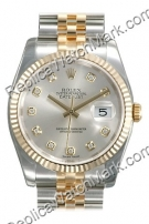 Swiss Rolex Oyster Perpetual Datejust Mens Watch 116233-SDJ