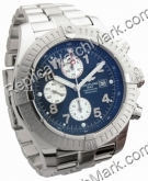 Breitling Aeromarine Super Avenger Steel Blue Mens Watch A133701