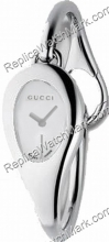 Gucci 103 Series Horsebit Silver Dial Mini Ladies Watch YA103505