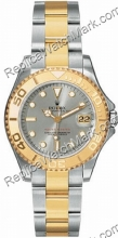 Swiss Rolex Oyster Perpetual Unisex Watch Yachtmaster 168.623-CS