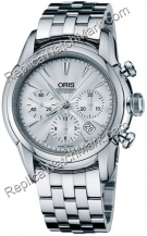 Oris Artelier Chronograph Mens Watch 676.7547.40.51.MB