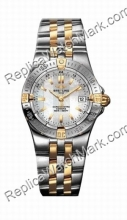 Breitling Windrider Starliner Ouro 18kt Yellow e senhoras Steel