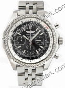 Breitling Bentley Motors Chronograph Steel Black Mens Watch A253