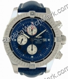 Breitling Aeromarine Super Mens Steel Avenger Blue Watch A133701