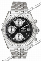Breitling Windrider Chronomat Evolution Steel Black Herrenuhr A1