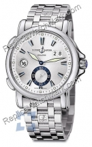 Ulysse Nardin Dual Time 42 milímetros Mens Watch 243-55-7-91