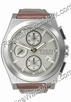 52039661a78 Stainless steel watches   Gucci 115 Pantheon Midsize Chronograph ...