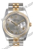 Swiss Rolex Oyster Perpetual Datejust Mens Watch 116233-SRJ