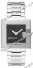 Gucci G-Watch 108G Black Flower Dial Ladies Watch YA108501