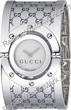 7082a8e5e8d Best sport watches   Gucci Ladies Series 112 Twirl Bangle Style Wide ...