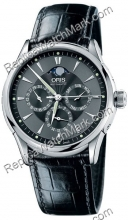 Oris Artelier GMT Mens Watch 581.7592.40.54.LS