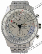 Breitling Navitimer Mens World Steel Watch A2432212-G5-426A