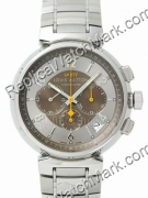 Replica Louis Vuitton Watch white dial with stainless steel band