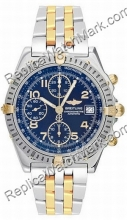 Breitling Chronomat Evolution Windrider 18kt Yellow Gold Blue St