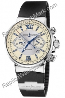 Ulysse Nardin Maxi Chronograph Mens Watch Marine 353-66-3.314