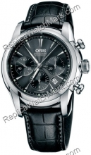 Oris Artelier Mens Chronograph Watch 676.7547.40.54.LS