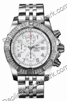 Breitling Super Avenger Diamond Aeromarine Steel White Herrenuhr