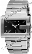 G-Gucci Watch 100G Mens Steel Black Watch YA100305