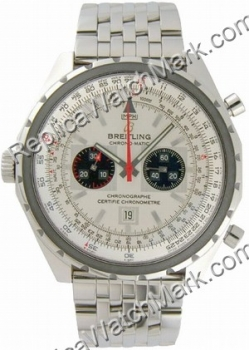 Breitling Navitimer Chrono-matic Steel Chronograph Mens Watch A4